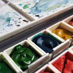 boite d'aquarelle